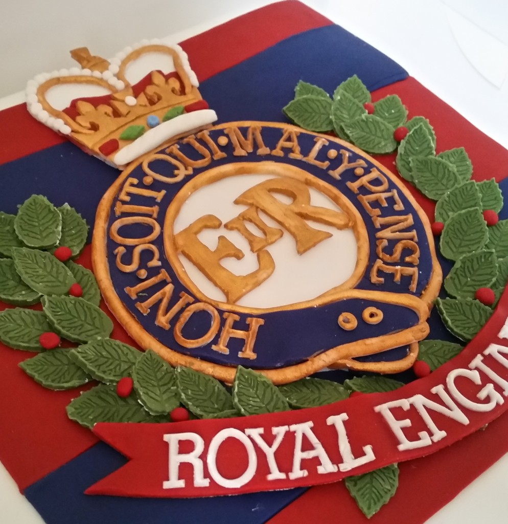 ROYAL ENGINEERS CAKE